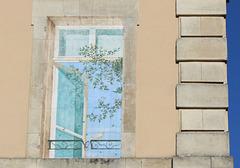 ...décoration de fenêtre d'été...