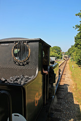 A1X (TERRIER) CLASS 0-6-0T NO.W8 'FRESHWATER' ~ Isle of Wight steam railway