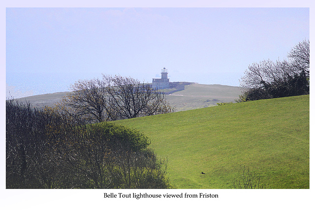 Belle Tout from Friston - Sussex - 30.4.2015