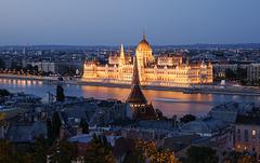 Noche y tarde en el Danubio