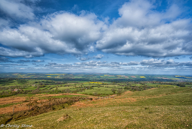 View from Brown Clee