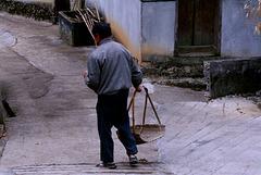 Baimashan : Going to work