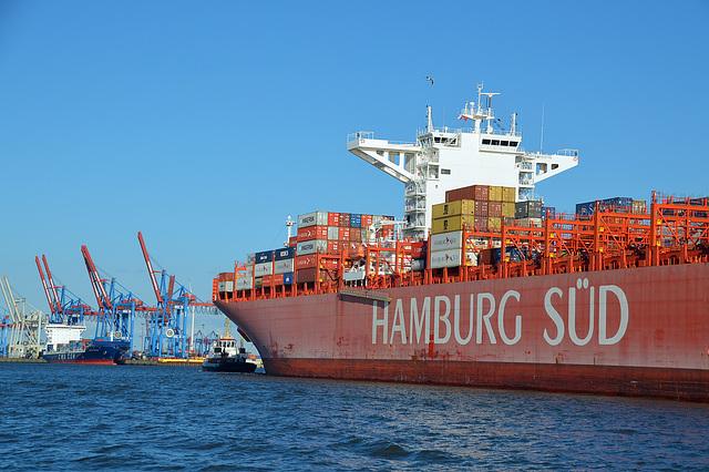 Zielhafen Hamburg fast erreicht
