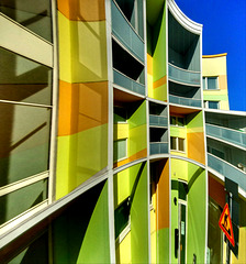 #36 A colourful building