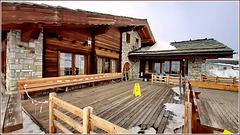 Zermatt : un bel rifugio in alta quota