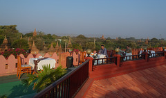 Thurizza Hotel in New Bagan
