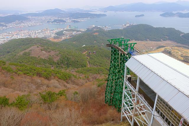 Tongyeong Ropeway - Mt. Mireuksan