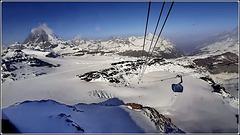 Zermatt : un gran panorama dall'alto del Matterhorn Paradise !