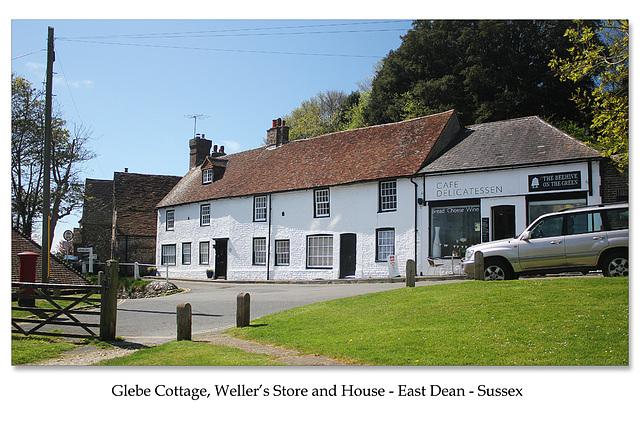 Glebe Cottage Upper Street - East Dean - East Sussex - 30.4.2015