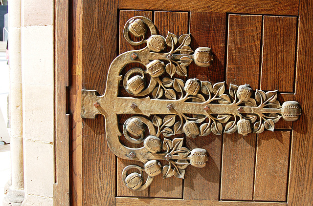Detail of West Door, Saint Martin's Church, Bullring, Birmingham