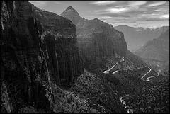 Pine Creek Canyon Overlook - 1986