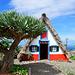 Touristenattraktion: die traditionellen Häuser von Santana - Casas do Colmo (© Buelipix)