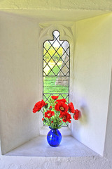Memorial window at St. Mary's church ~ West Somerton ~ Norfolk