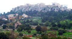 GR - Athens - View towards Akropolis