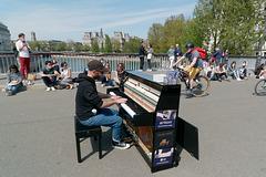 Le pianiste et son public