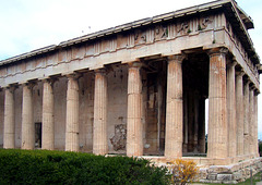 GR - Athens - Temple of Hephaistos