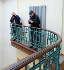 Auf dem Fotografen-Balkon :-)