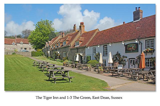 Tiger Inn & 1-3 The Green - East Dean - Sussex - 30.4.2015