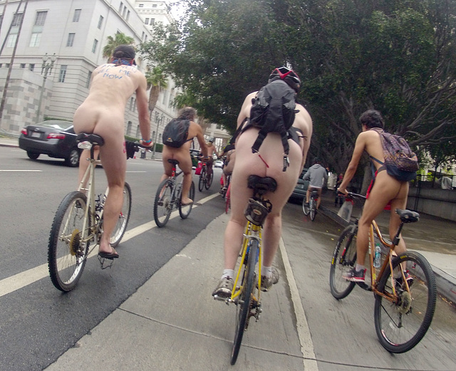 LA World Naked Bike Ride (663a)