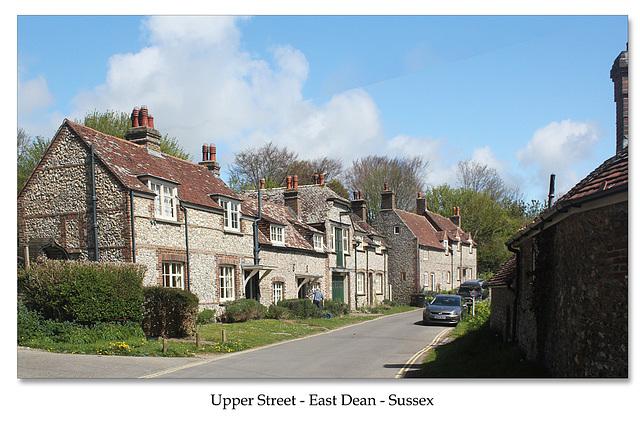 Upper Street - East Dean - East Sussex - 30.4.2015