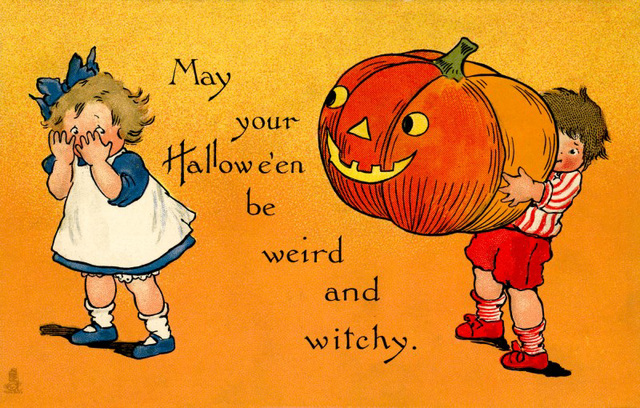 May Your Halloween Be Weird and Witchy