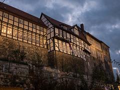 es wird Abend in Quedlinburg