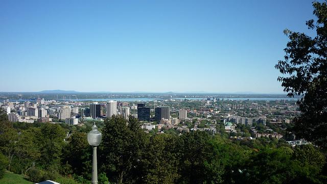 Une vue de Montréal...