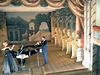 Unika baroka teatro en la kastelo Litomyšl