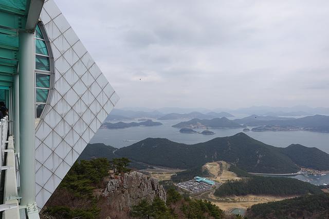 View from Tongyeong Ropeway - Mt. Mireuksan