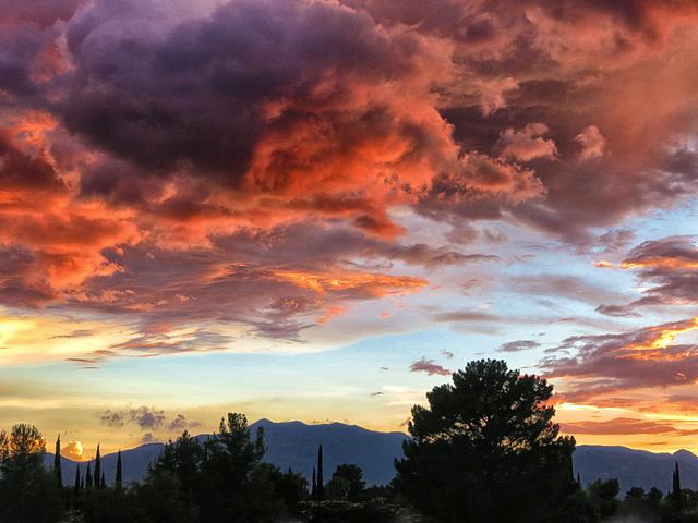 A Monsoon Sunset
