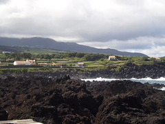 Volcanic coast of northern Terceira.