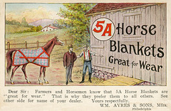 5A Horse Blankets Are Great for Wear