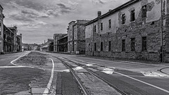 Abandoned Trieste - no traffic anymore