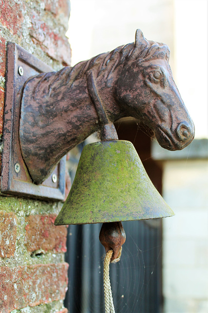 sonnette cheval