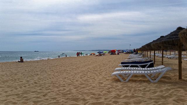 Praia da Rocha Baixinha, Loulé, Portugal