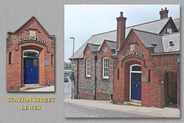 Kingdom Hall - Station Street - Lewes - 2.6.2012