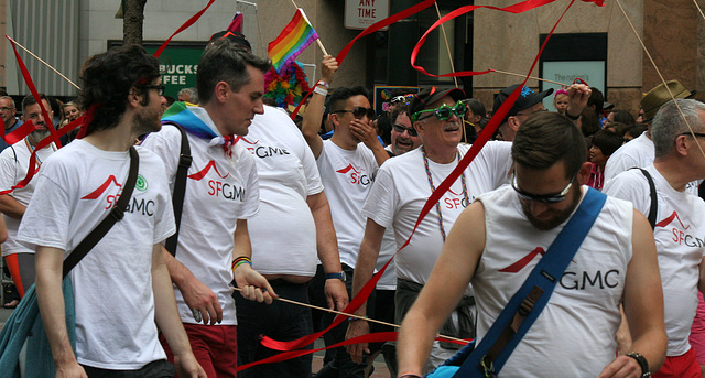 San Francisco Pride Parade 2015 - SFGMC (5834)