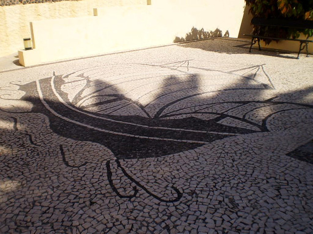 Portuguese pavement.