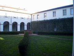 Western cloister of Saint Francis Monastery.