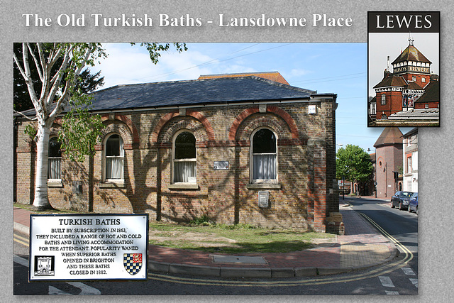 Former Turkish Baths - Lansdowne Place - Lewes - 2.5.2009