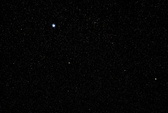 Just a plain star field.- do look large.