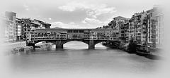 Florence /Firenze (I) 18 mai 2011. Le Ponte Vecchio côté ouest.