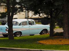Blue Pontiac