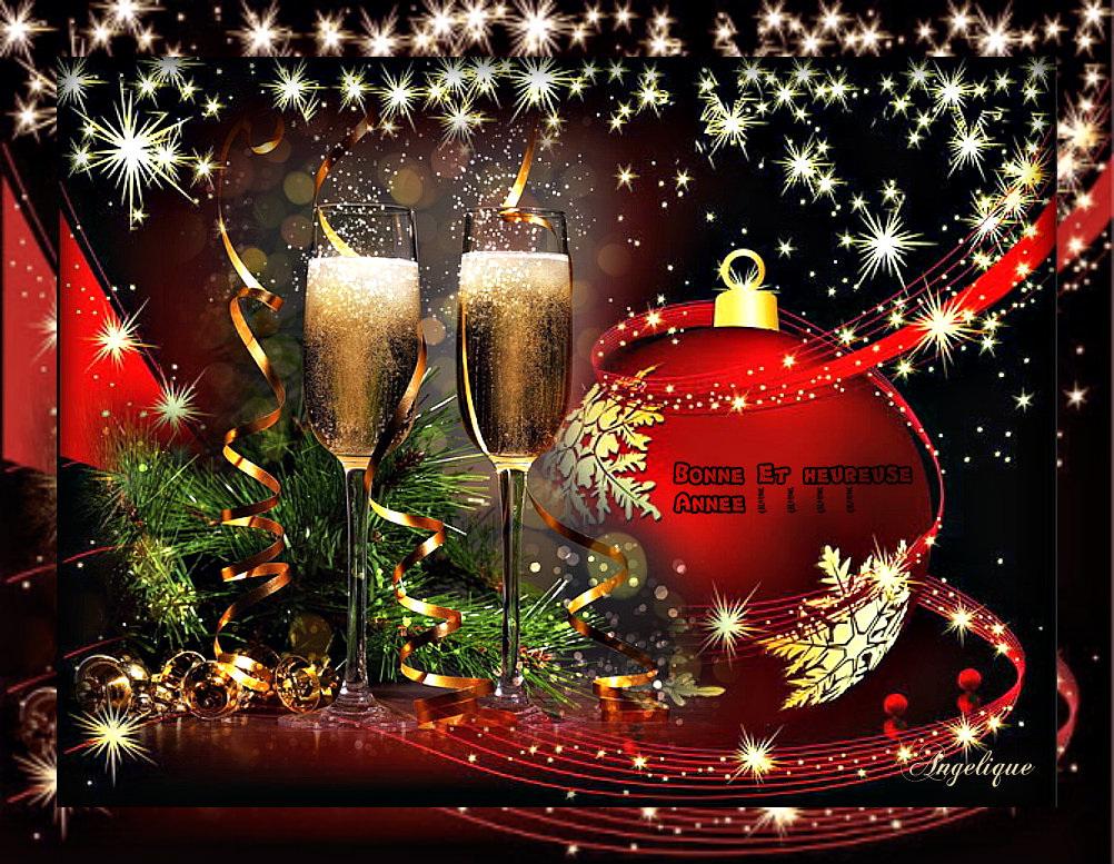 Je vous souhaite un bon réveillon du 31 Décembre avec tout mes meilleurs voeux à tous