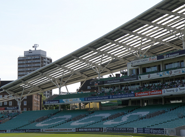 OCS Stand at The Oval
