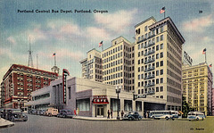 Portland Oregon Postcard, c1935