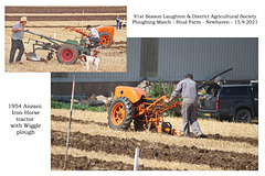 05 Anzani Iron Horse horticultural tractor 1954 - Wiggle plough - Roger Fermor