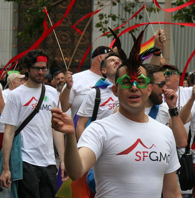 San Francisco Pride Parade 2015 - SFGMC (5830)