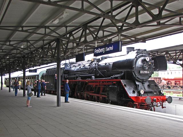Im Bahnhof Freiberg
