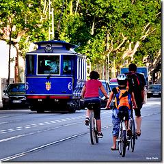 """Tramvia Blau"" - Av. Tibidabo - Barcelona - BCN"